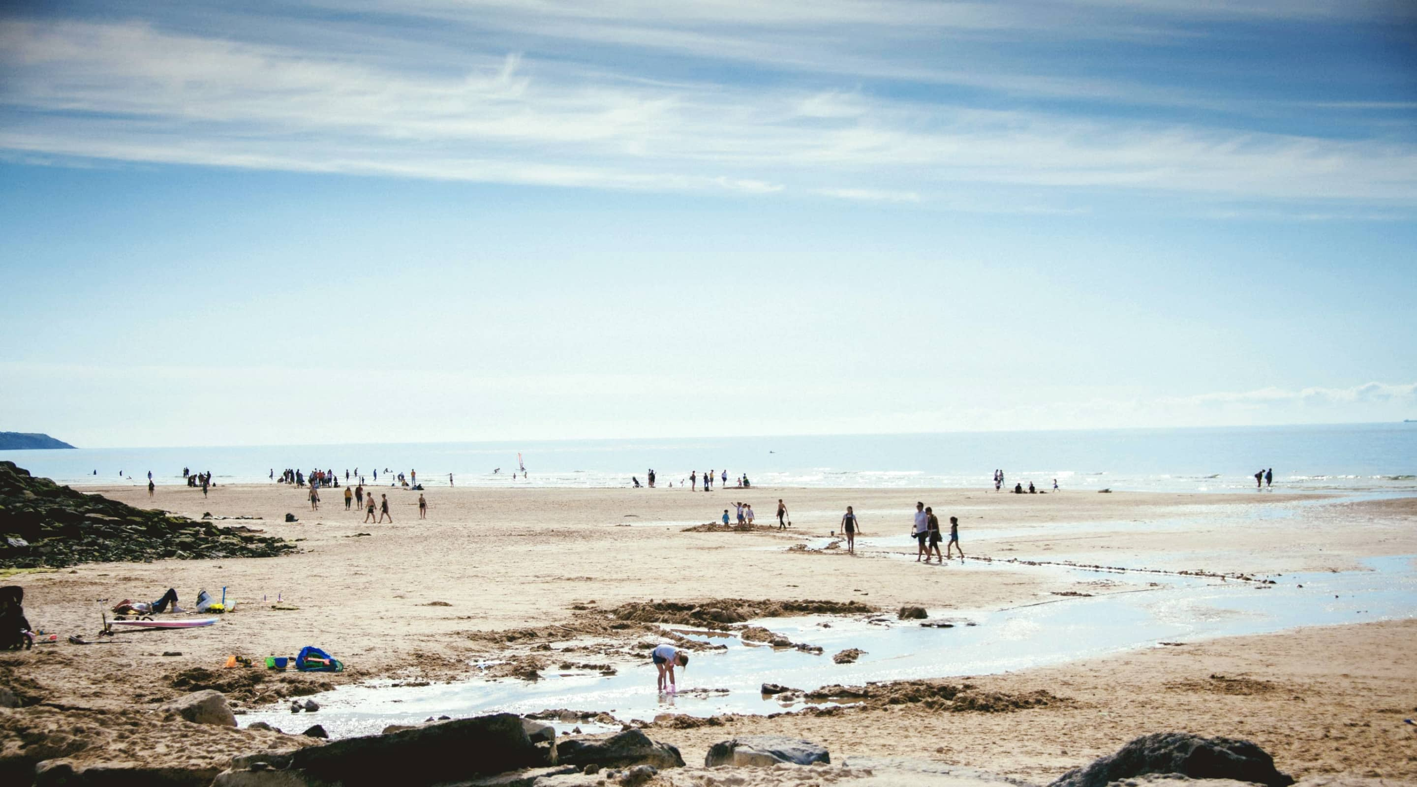 Photo de la plage de Wissant